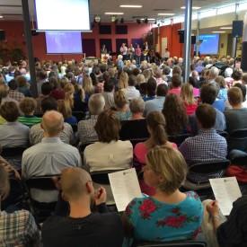Verscheidene kerkdiensten & conferenties